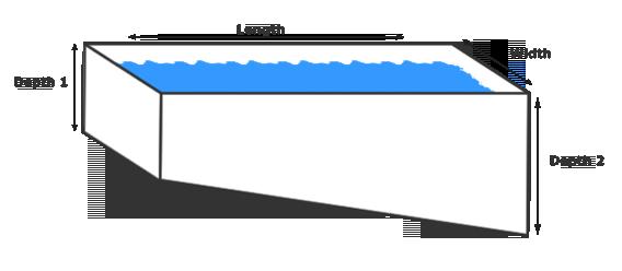 Pool Square Meter Area Calculator